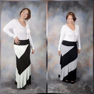 Dresses & Skirts - 🌟New Arrival Plus Size🌟High Waist Maxi Skirt